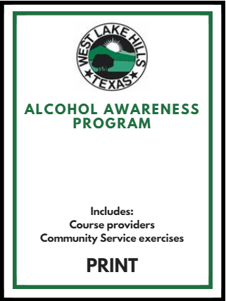 Alcohol Awareness Program Cover Opens in new window