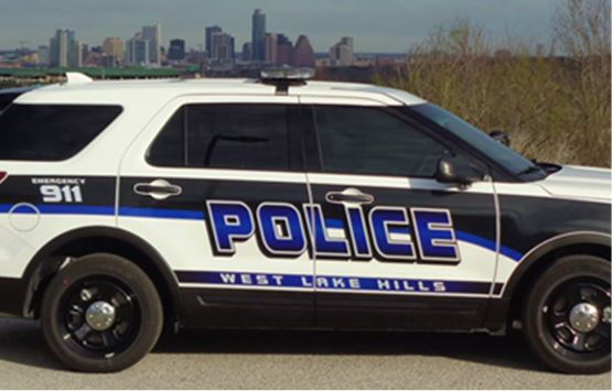 West Lake Hills Police Car